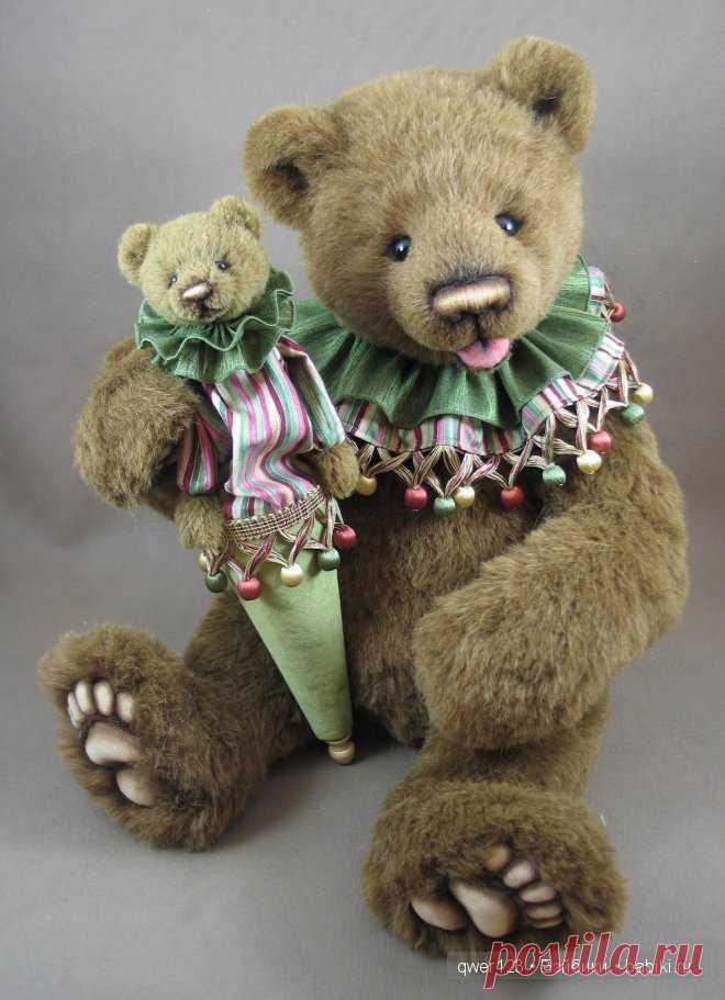 Картинки милый медвежонок это
