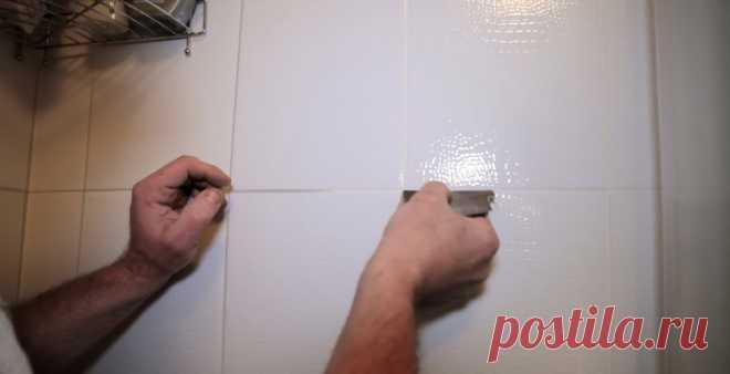 Как вычистить плиточные швы в ванной | Делимся советами