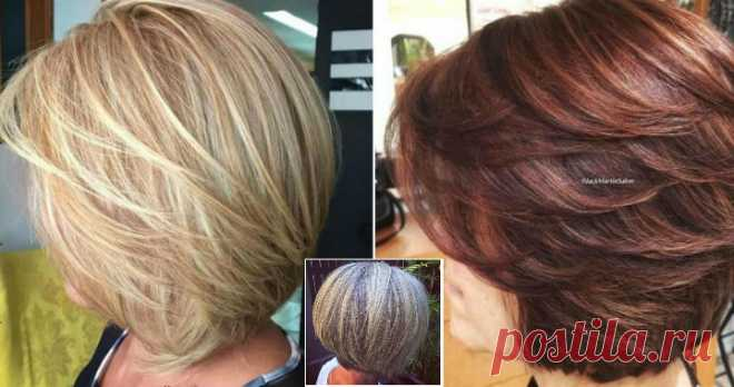 Hairdresses which thresh and decorate: 33 stylish options of fashionable hairstyles for women after 50 Age are yet not an occasion to stop being beautiful. However after 50 it is worth approaching the choice of a hairstyle more carefully. And we will help you with it! So, what hairdresses are ideally suited for women for 50?\u000a\u000aChoosing a hairdress, it is necessary to remember several rules:\u000a1. Hairdresses of short and average length – here it