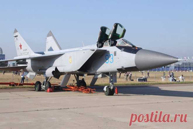 ENGINES FOR MIG-31, INTERCEPTIONS AND THE DAGGER COMPLEX