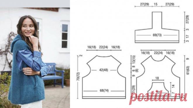 Вязаные жилеты - такие разные и стильные. | Марина Тарнакина, вяжу на машине | Яндекс Дзен
