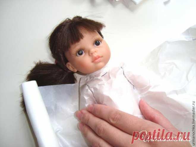 Подробный мастер-класс  шьем очаровательное платье для куклы  публикации и  мастер-классы d38355c56f1