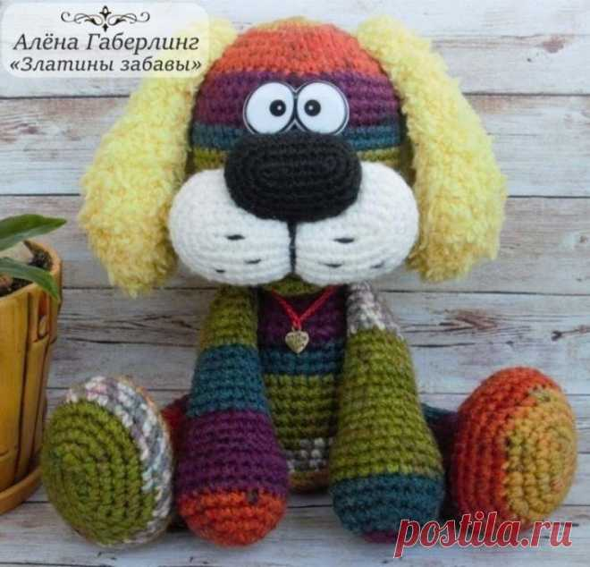 Собака Барк амигуруми | AmiguRoom