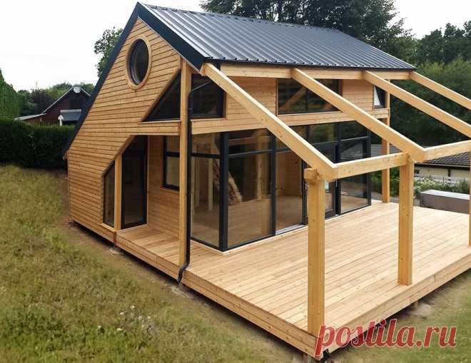 Дачный небольшой,маленький домик,фото. | Столярный блог.