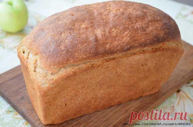 Пшенично ржаной хлеб в домашних условиях