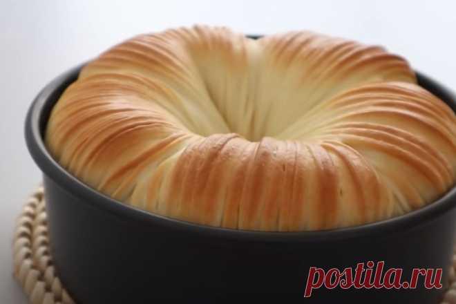 Рецепт белого хлеба в духовке: оригинальная форма и начинка
