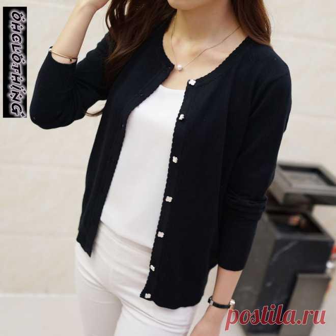 короткий дизайнерский тонкий кардиган Женская Солнцезащитная рубашка с вырезами свитер вязаная верхняя одежда маленькая накидка