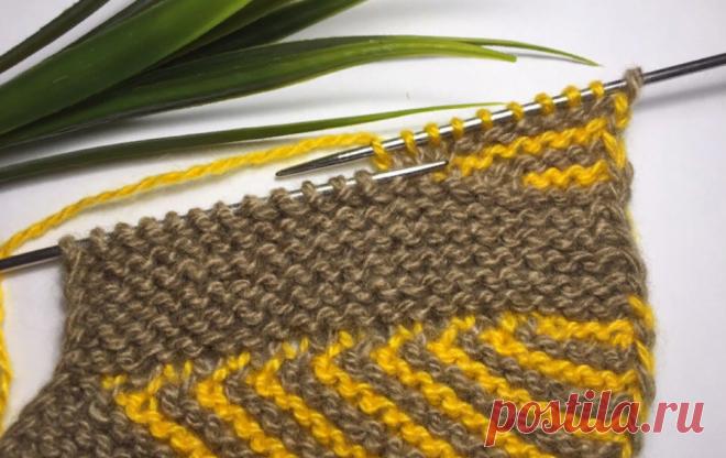 Простые и удобные тапочки на двух спицах без швов | Вязание и Рукоделие | Яндекс Дзен
