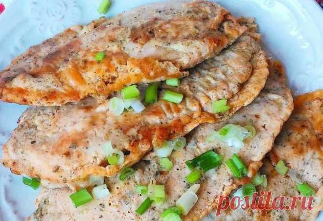 Идеальный ужин – куриные отбивные в кляре!