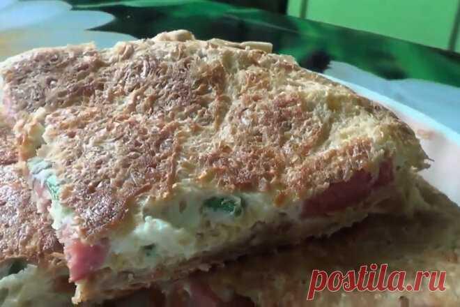 Лаваш с яйцом, сосисками и сыром на сковороде, рецепт с фото пошагово и видео — Вкусо.ру