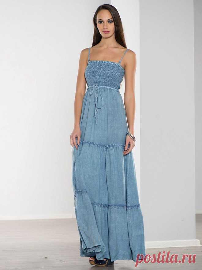 5b155f7672d Модные джинсовые сарафаны  100+ новинок
