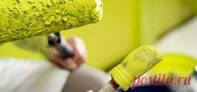 Как убрать запах краски в квартире | Журнал