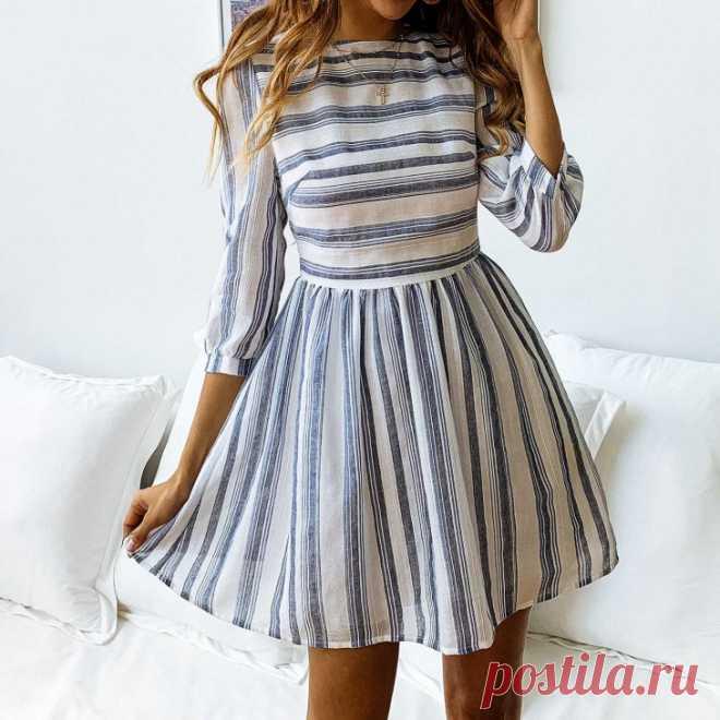 Выкройки платья для юных и звонких Модная одежда и дизайн интерьера своими руками