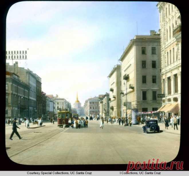 Лениград в 1931 - м / Назад в СССР