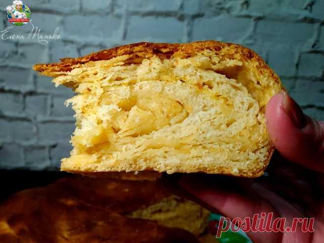 Слоеный хлеб. Готовлю с разными начинками, сегодня — с сыром | Кухня без границ Елены Танько | Яндекс Дзен