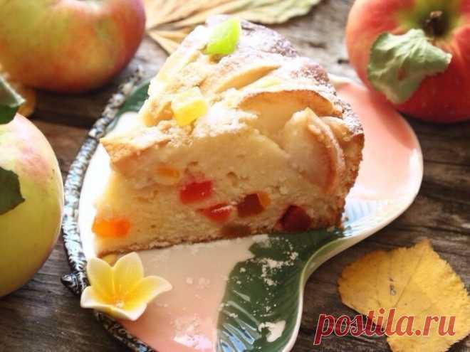 Творожно-яблочный пирог - Пошаговый рецепт с фото своими руками Творожно-яблочный пирог - Простой пошаговый рецепт приготовления в домашних условиях с фото. Творожно-яблочный пирог - Состав, калорийность и ингредиенти вкусного рецепта.