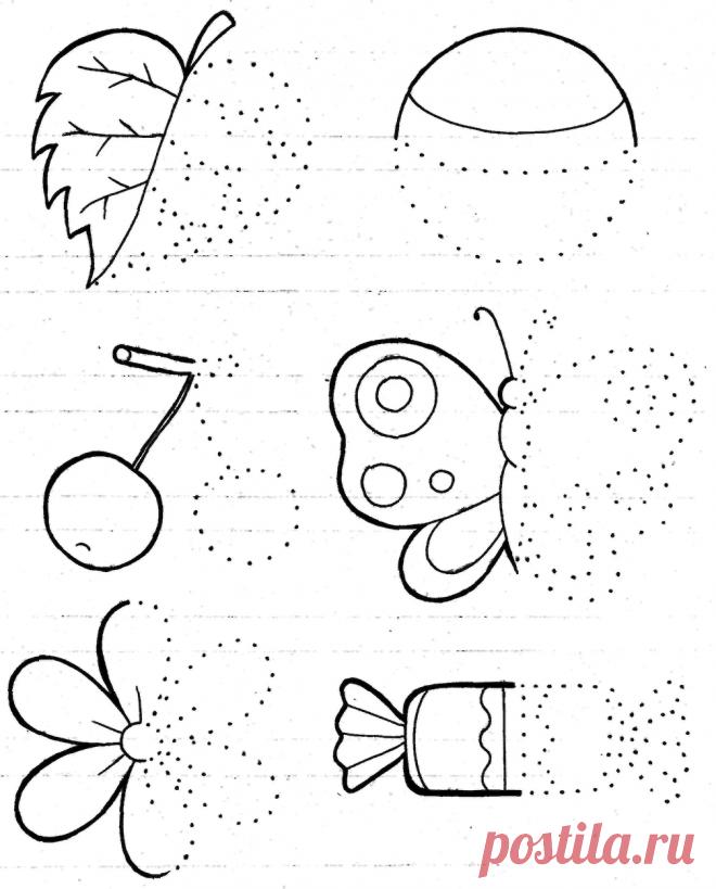 нее задание веселые картинки рисование при помощи открыток уже готовых изделий