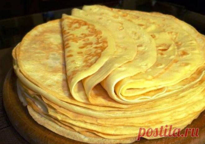 Блины на майонезе – просто и вкусно. | Кулинарные рецепты | Яндекс Дзен