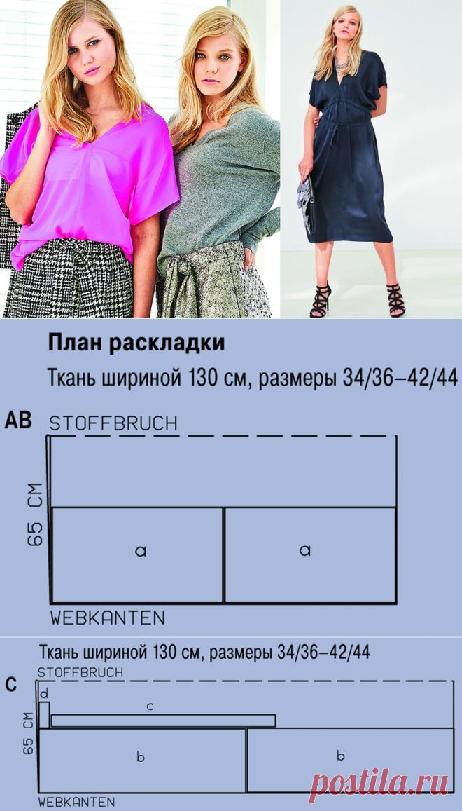 07d8bb38baa Туника и платье без выкройки своими руками — Мастер-классы на BurdaStyle.ru