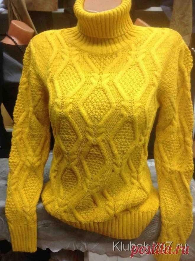 Узор для пуловера   Клубок