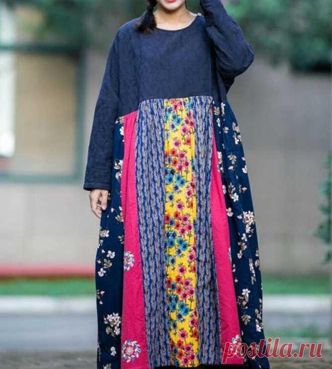 Women's plus size long dresses Bridal dress loose | Etsy