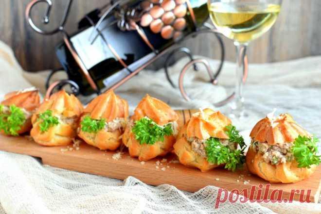 Закусочные пирожные с пикантным кремом - пошаговый рецепт с фото на Повар.ру