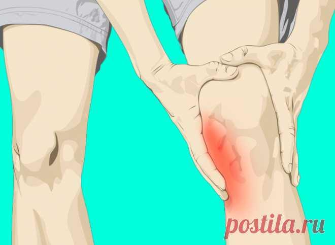 10 упражнений от хруста в коленях