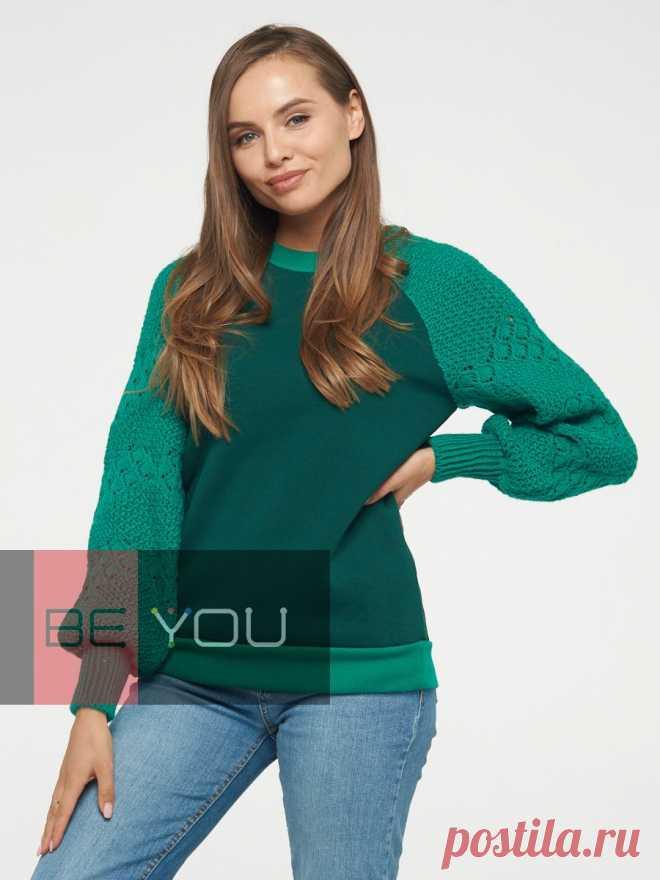 Джемпер женский BY202-40057 - Джемперы, свитера, туники - Фемина Трейд – «Фемина Трейд»