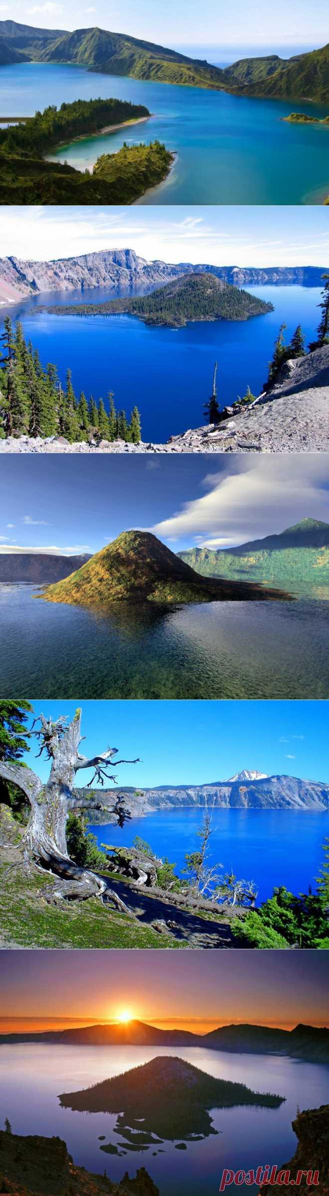 (+1) тема - Красоты озера Крейтер   Непутевые заметки