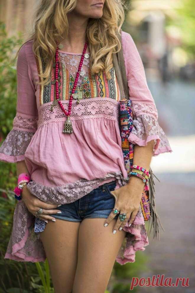 3 легких блузы в стиле бохо, которые стилисты рекомендуют носить летом 2020 | Блог Oskelly | Яндекс Дзен