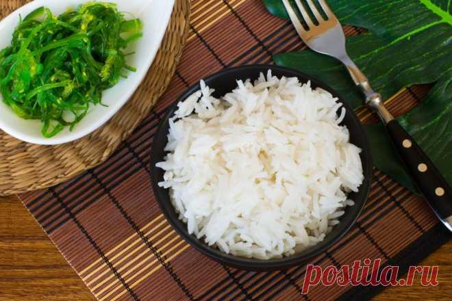 Каша рисовая рассыпчатая рецепт с фото - 1000.menu