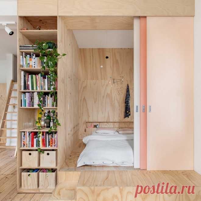 Грамотное зонирование, которое сделает из 1 комнаты две и даже больше