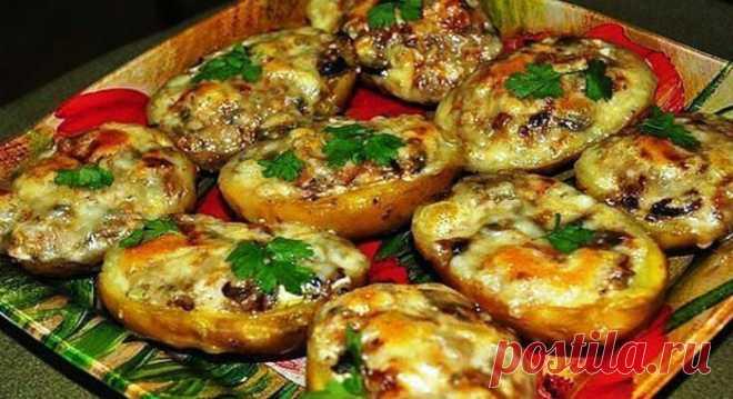 Човники з картоплі в мундирі: неймовірно смачна страва з картоплі | Смачні рецепти домашніх страв