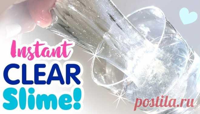 Пошаговый видео-рецепт: как сделать стеклянную массу - прозрачную основу clear slime – стеклянного слайма лизуна в домашних условиях. Слаймы получаются из такой массы как магазинные из дорогих: