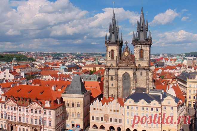 Чехия:Приглашаю на прогулку по Праге!