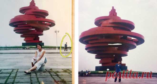 Los esposos han descubierto uno a otro sobre la foto hecha hace dieciocho años\u000d\u000a Mucho tiempo antes del conocimiento del vapor se encontraba al mismo tiempo en el mismo lugar. Y hasta en una forografía.\u000d\u000a\u000d\u000aMr. Ye y Mrs. Syue de la ciudad Chendu china han conocido en 2011. Ahora son felizmente casados y educan dos hijas-mellizos. Pero, como recientemente se ha aclarado, los esposos por primera vez se han encontrado mucho tiempo antes del conocimiento \