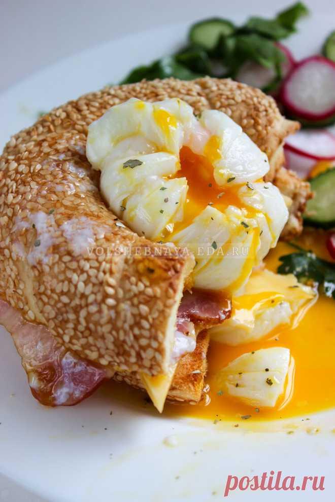 Яйцо пашот в пищевой пленке | Волшебная Eда.ру