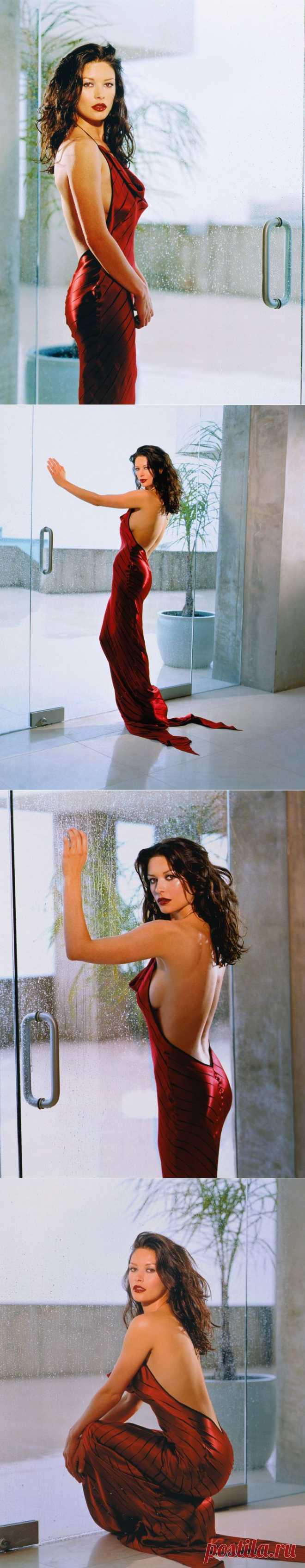 Кэтрин Зета-Джонс (Catherine Zeta-Jones) в фотосессии Ланса Стэдлера (Lance Staedler).