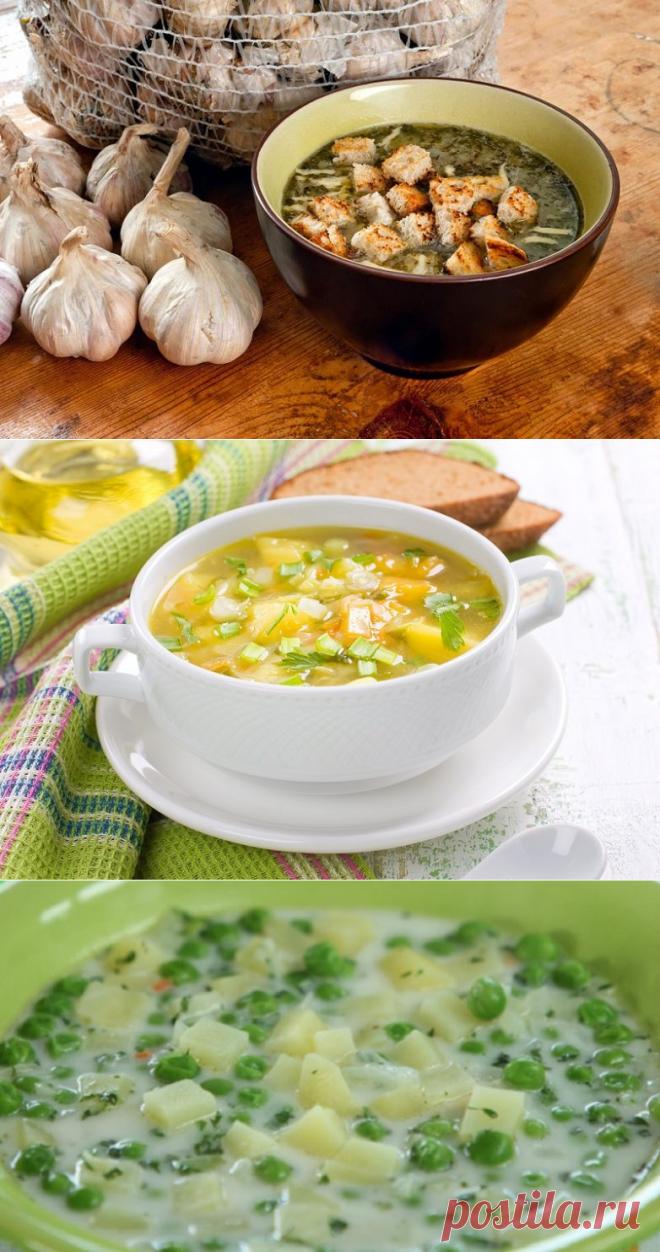 3 рецепта домашних супов на каждый день
