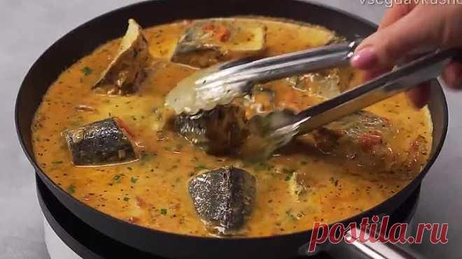 Ароматное и аппетитное рыбное рагу