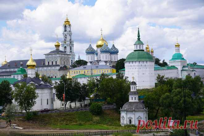 Православная жемчужина Подмосковья. Показываю, что посмотреть за один день в Сергиевом Посаде   BSPchannel   Яндекс Дзен