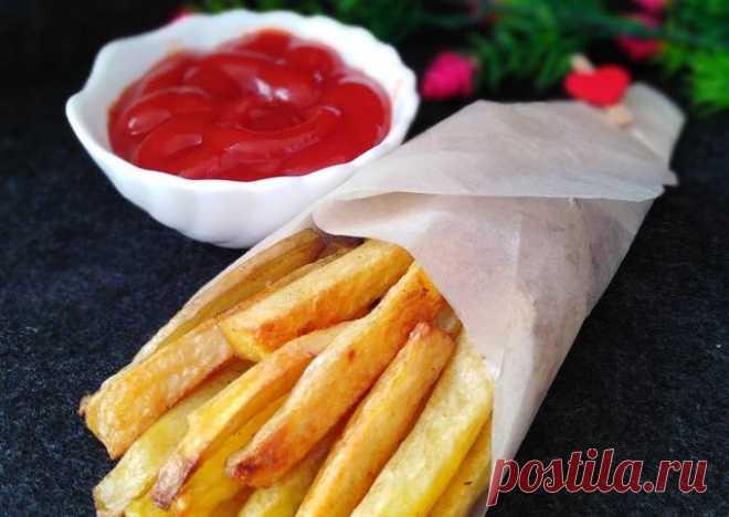 (1) Картофель фри в духовке 💕 - пошаговый рецепт с фото. Автор рецепта Наталья Малыхина . - Cookpad