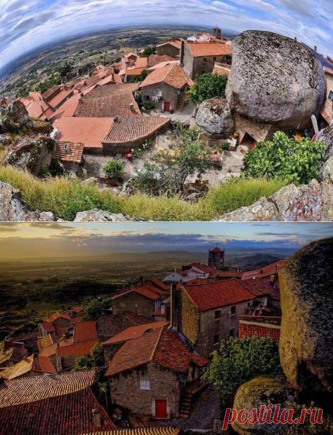 Жизнь среди камней в деревушке Монсанто