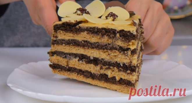 Нежный и вкусный тортик
