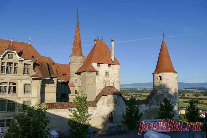 Неизвестные замки Швейцарии. Часть 1