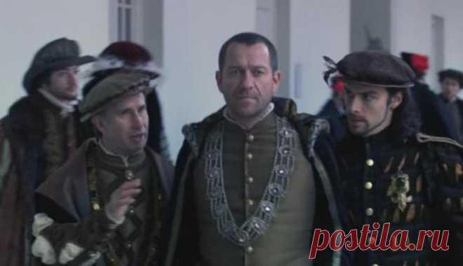 """Shon Pertui y Eydan Turner en """"Тюдорах"""""""