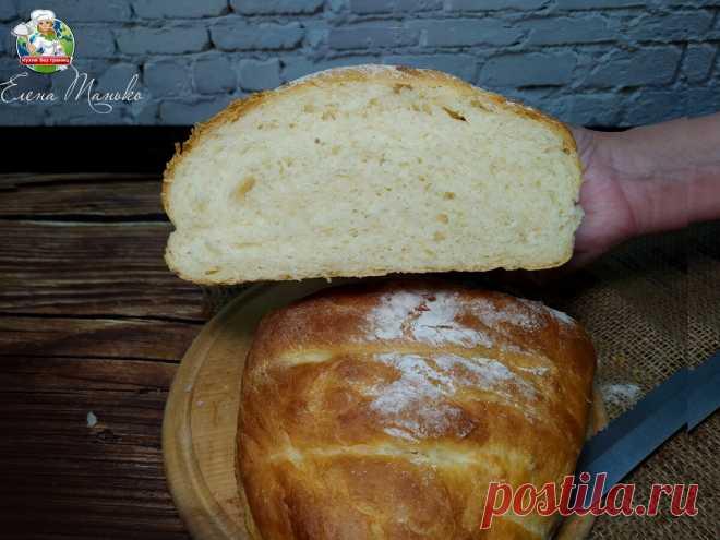 Как за один час приготовить вкусный хлеб без хлебопечки и сложного замеса. Делюсь любимым рецептом | Кухня без границ Елены Танько | Яндекс Дзен