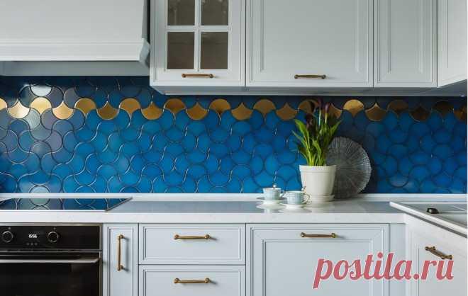 Как оформить кухонный фартук: 14 новых идей — INMYROOM