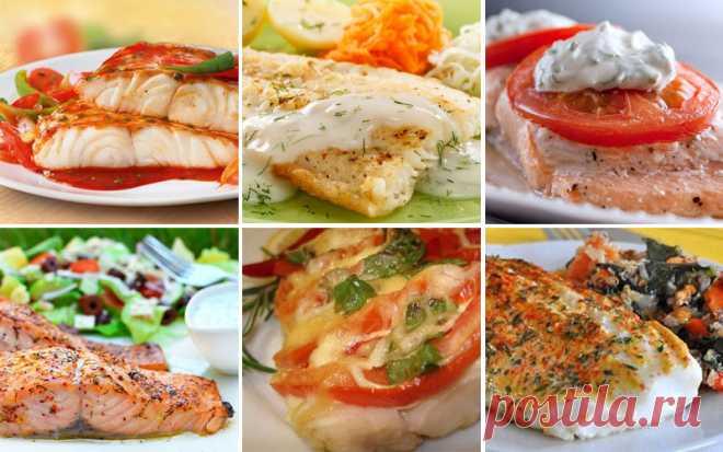 Топ-6 рецептов рыбных блюд!..