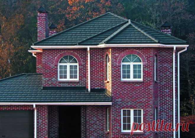 Как правильно сочетать цвет фасада и крыши дома? – 7 беспроигрышных вариантов (21 фото)